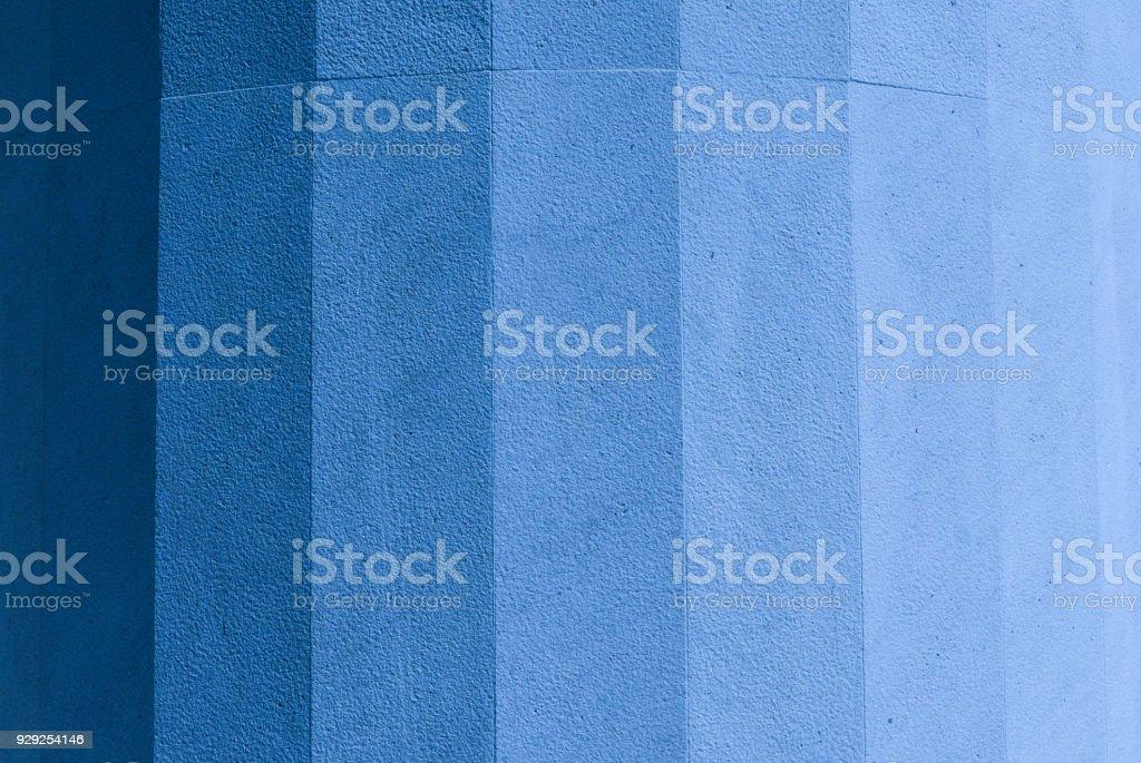 Authentic ocean blue gradient of marble texture stock photo