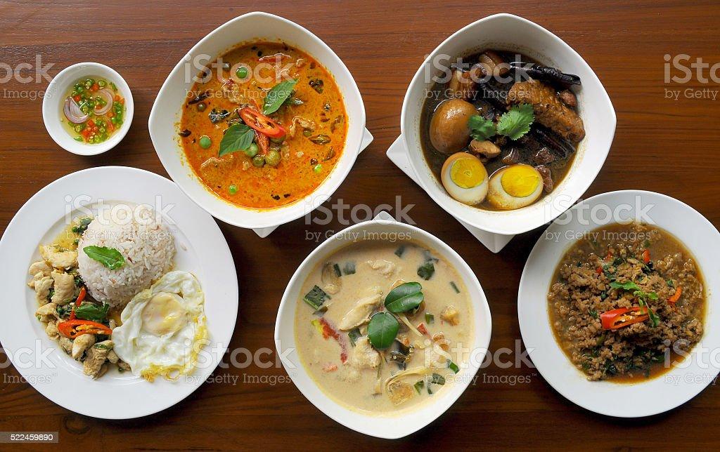 Authentic Thai cuisine stock photo