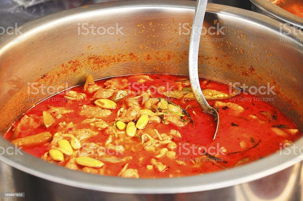 Authentic Thai Street Cuisine royalty-free stock photo