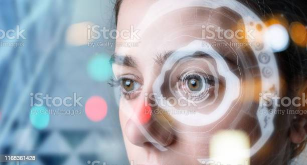 Authentication by facial recognition concept biometric security picture id1168361428?b=1&k=6&m=1168361428&s=612x612&h=binula9x6phpmwehsxjldzdwlr5tvahzvwk4ipe54lw=