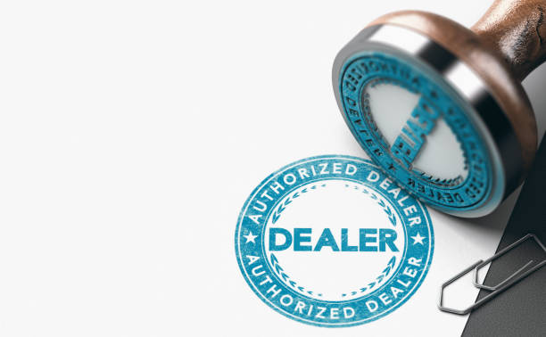 Authorized Dealer or Retailer Certification. stock photo