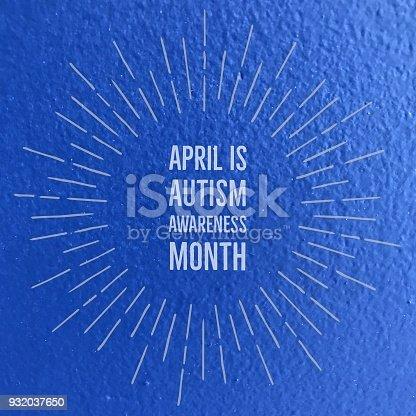 istock Autism awareness month 932037650