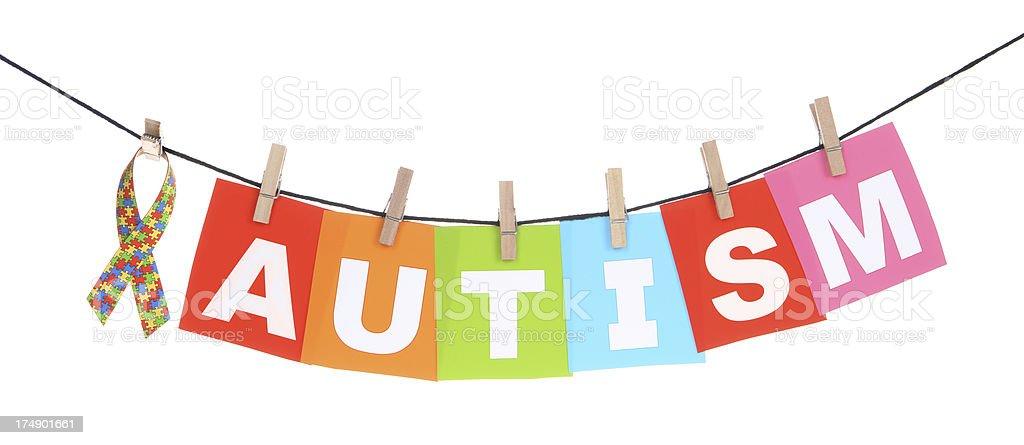 Autism Awareness stock photo