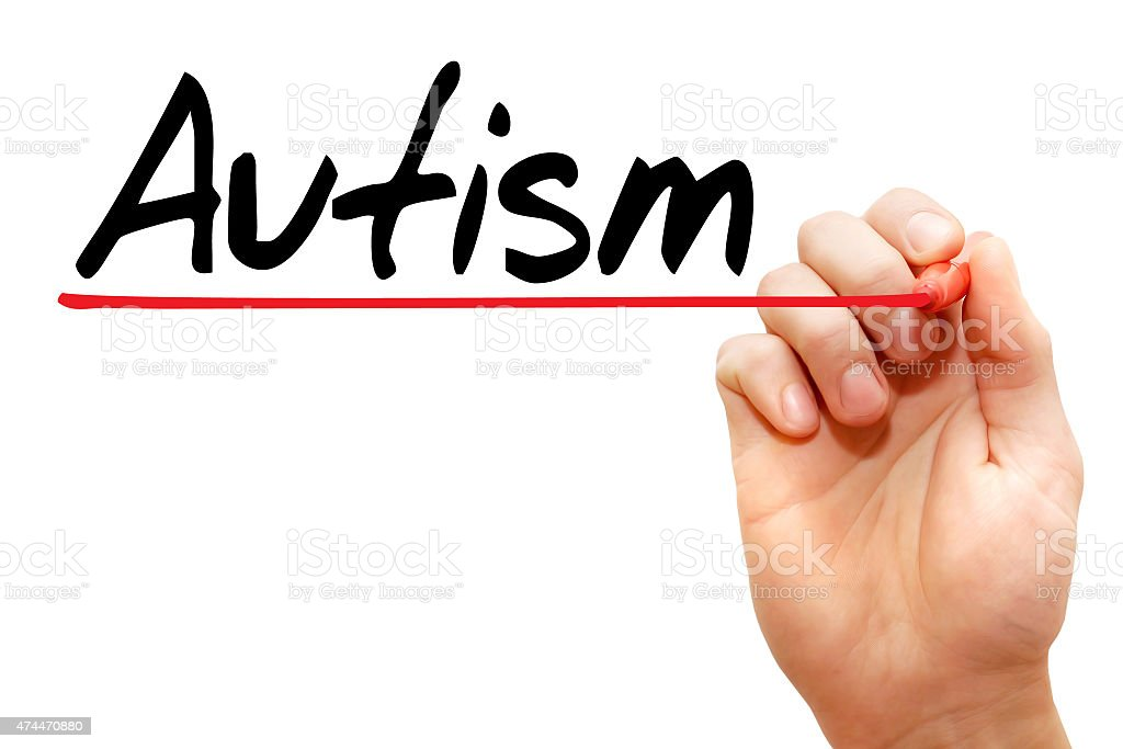 Autismo - foto de stock