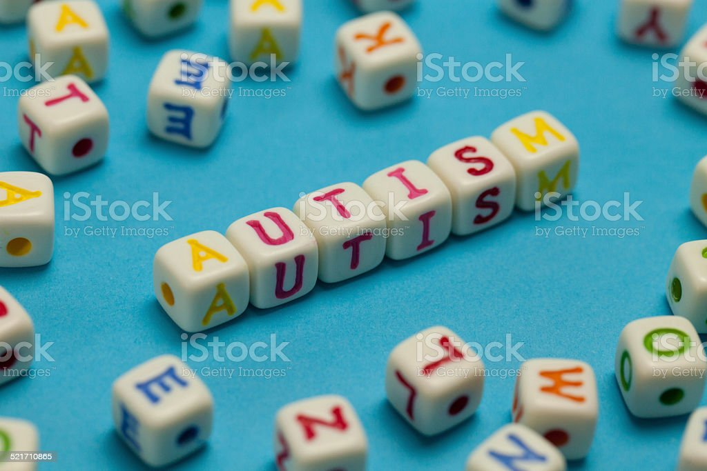 Autism stock photo