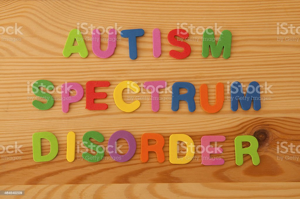 Autism Spectrum Disorder stock photo