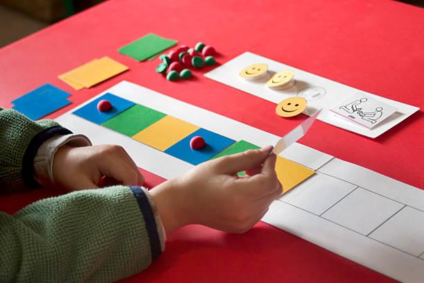 autism therapy - otizm stok fotoğraflar ve resimler