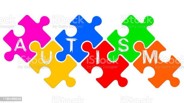 Autism word written on puzzles autism spectrum disorder concept picture id1165496543?b=1&k=6&m=1165496543&s=612x612&h=4neqqkumu czwhlxc myqvgxpbsronoujvfy6or0g2s=