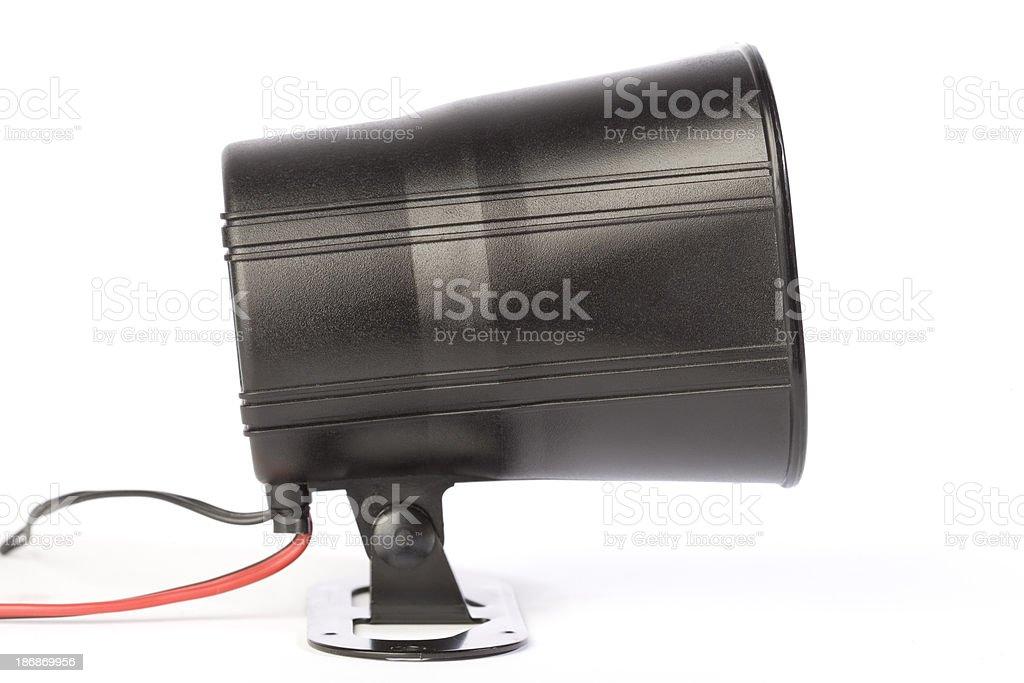 Auto Alarm stock photo