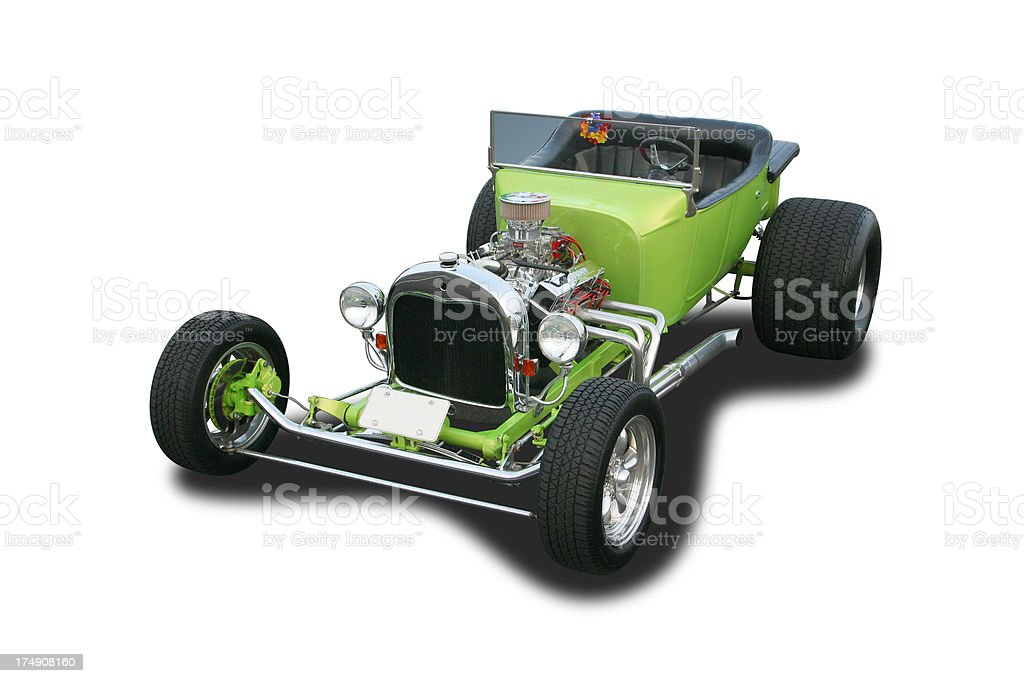 Auto Car - 1923 Ford Roadster Hot Rod royalty-free stock photo