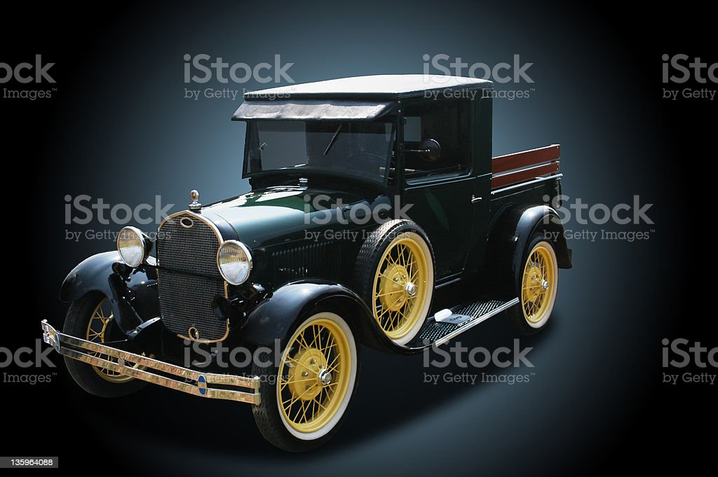 Auto Car - 1929 Ford Pickup Truck royalty-free stock photo