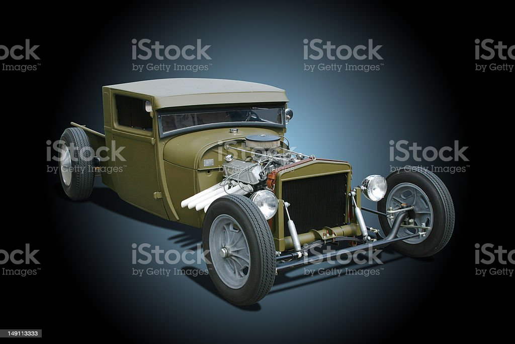 Auto Car - 1929 Ford Rat Hot Rod royalty-free stock photo