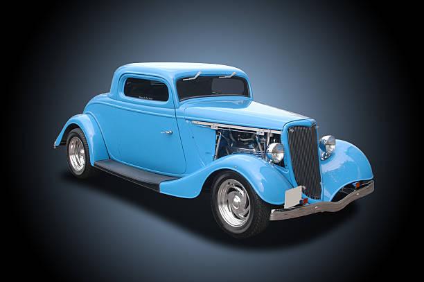 L'Auto - 1934 Ford 3 finestra Coupé Hot Rod - foto stock