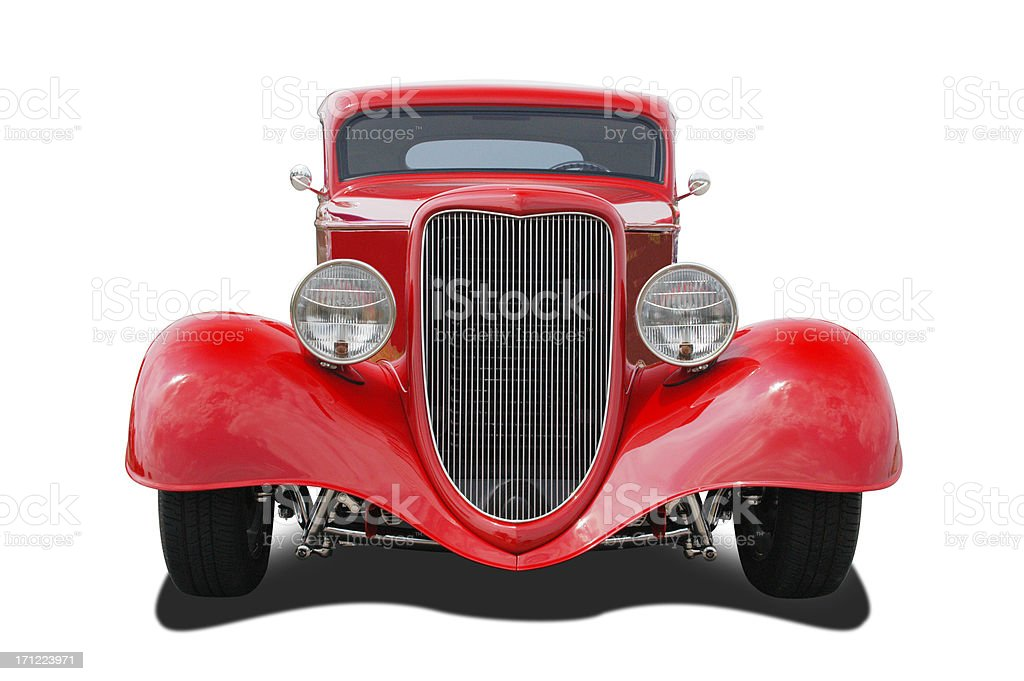 Auto Car - 1934 Ford 3 Window Coupe Hot Rod stock photo