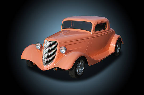 auto voiture ford hot rod 1934 - 1934 photos et images de collection