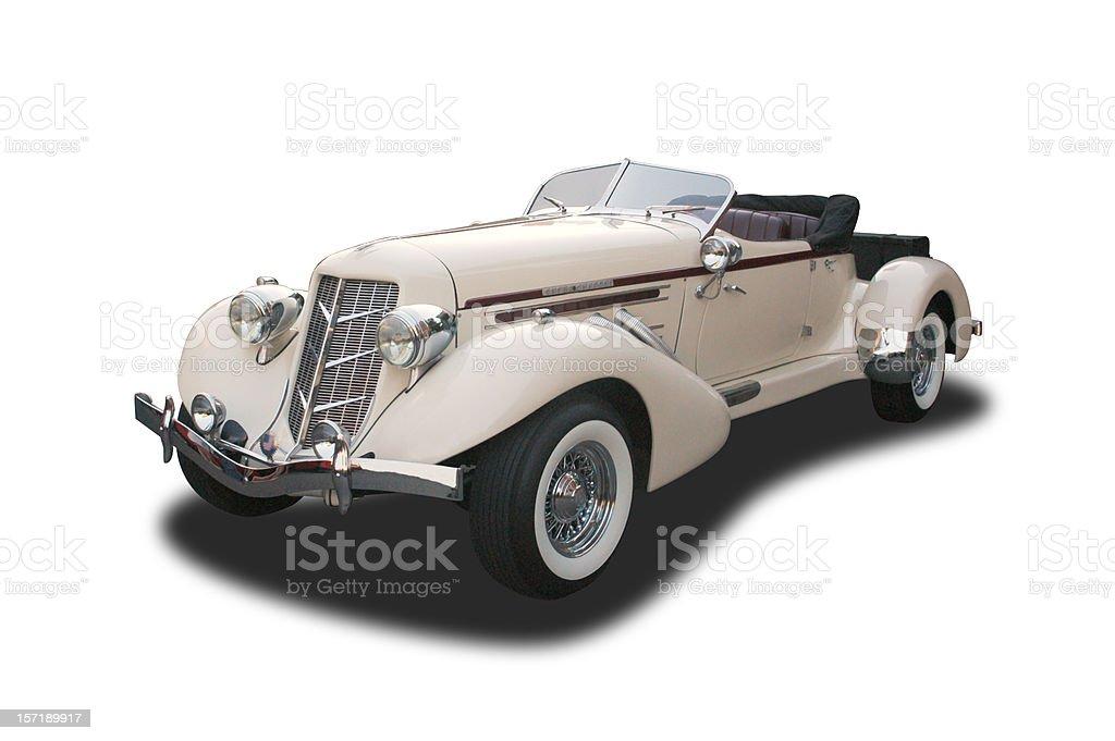 Auto Car - 1935 Auburn stock photo