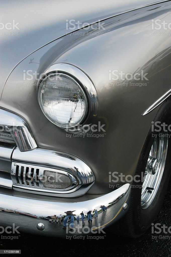 Auto Car - 1951 Chevrolet Deluxe Business Coupe royalty-free stock photo