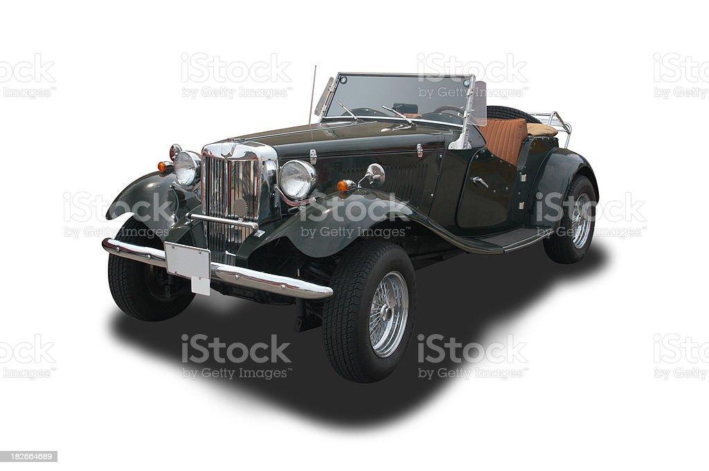 Auto Car - 1952 MG MGTD royalty-free stock photo