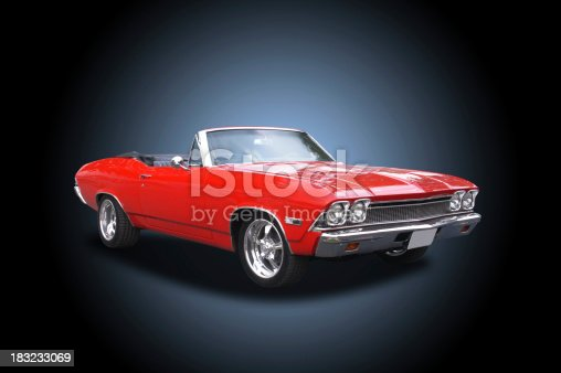 1968 Chevrolet 396 Convertable. Dark background requires no edits - ready for immediate use or display.See more of my
