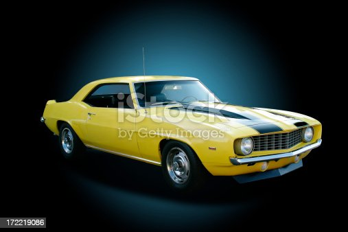 1969 Chevrolet Camaro Z/28. Background is ready for use or display without further work.See more of my