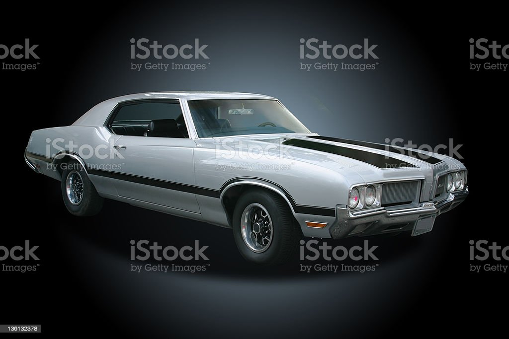 Auto Car - 1970 Oldsmobile Cutlass royalty-free stock photo
