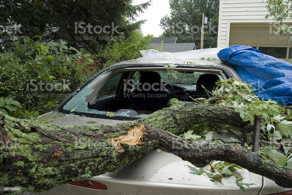 Auto damage foto