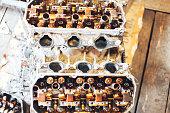 istock auto engine in garage 963374186
