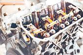 istock auto engine in garage 964871960