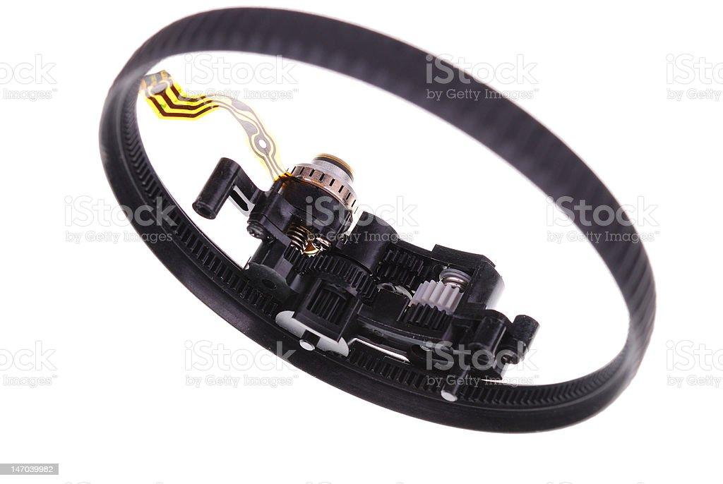 auto focue mechanism stock photo