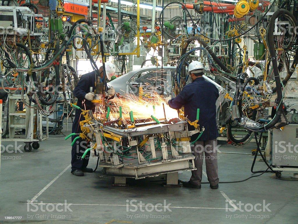 Auto Industry. stock photo