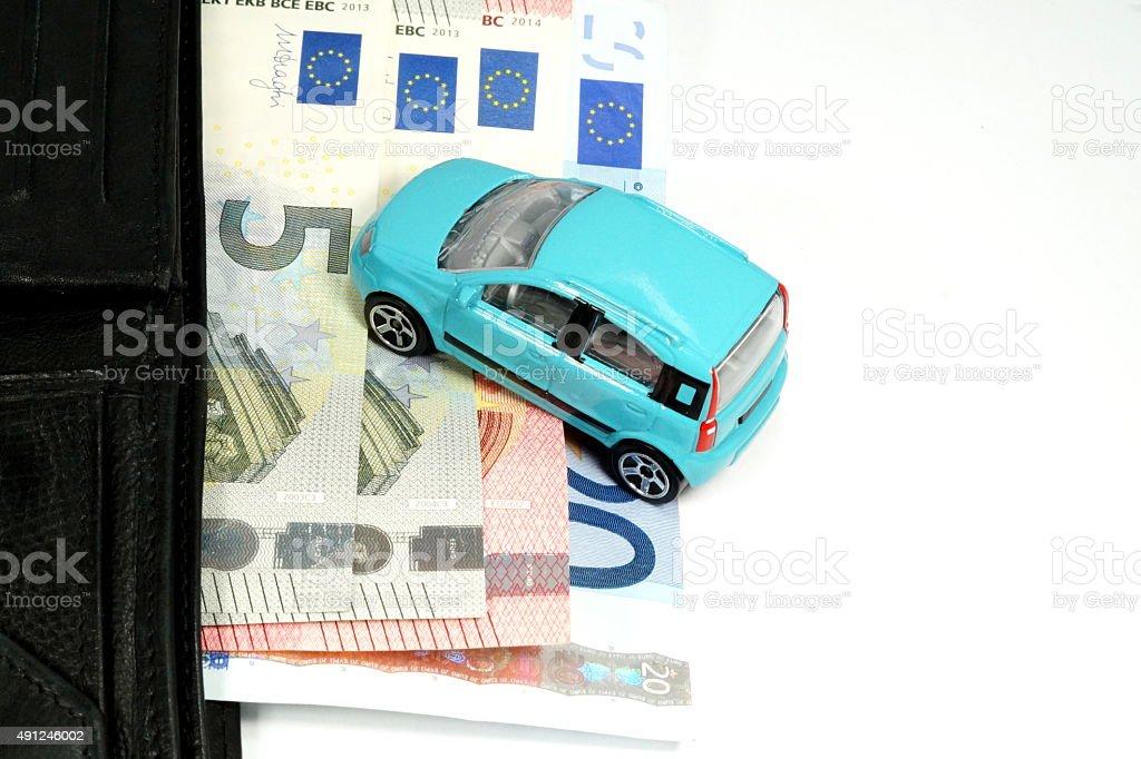 Auto Kosten stock photo