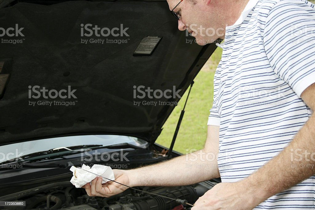 Auto Maintenance royalty-free stock photo