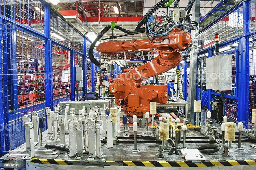 Auto manufacturing stock photo