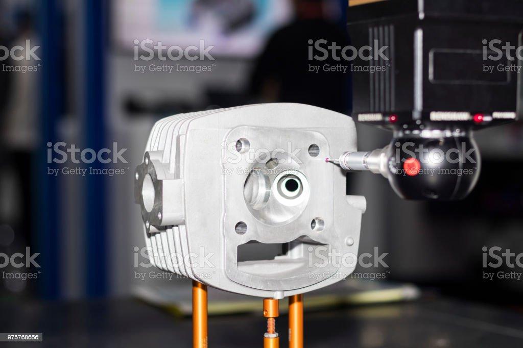 Automatische Messmaschine - Lizenzfrei Ausrüstung und Geräte Stock-Foto