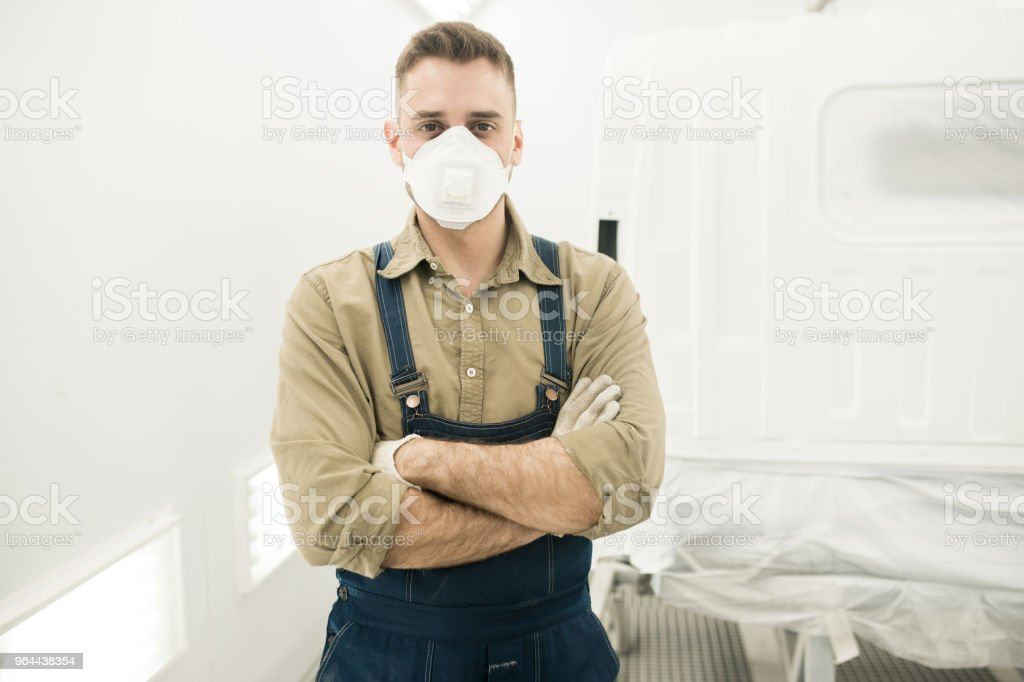 Auto Mechanic At Work - Royalty-free Adult Stock Photo