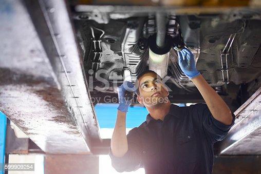 599909112 istock photo Auto mechanic 599909254