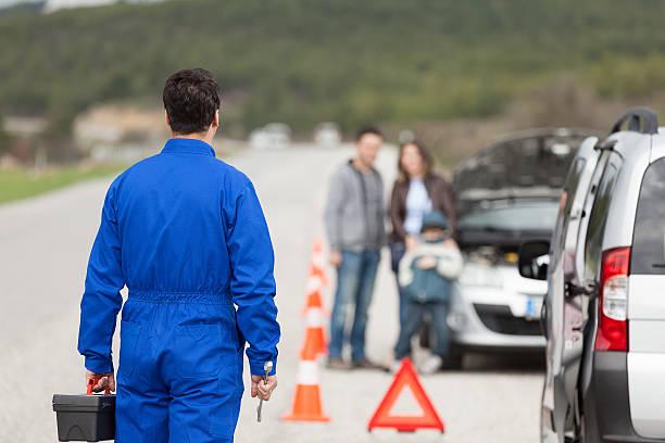 Automechaniker Road Hilfe – Foto