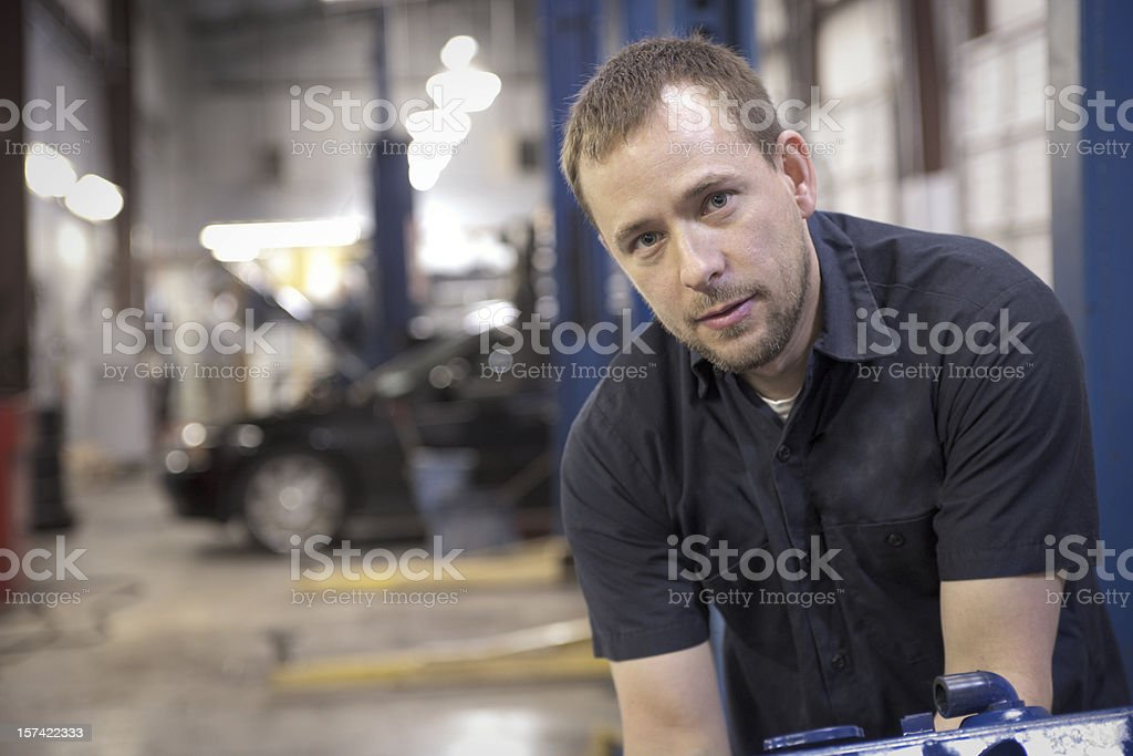 Auto Mechanic Series royalty-free stock photo