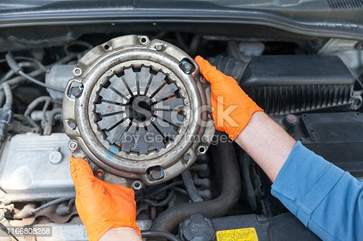 Car clutch pressure plate replacement
