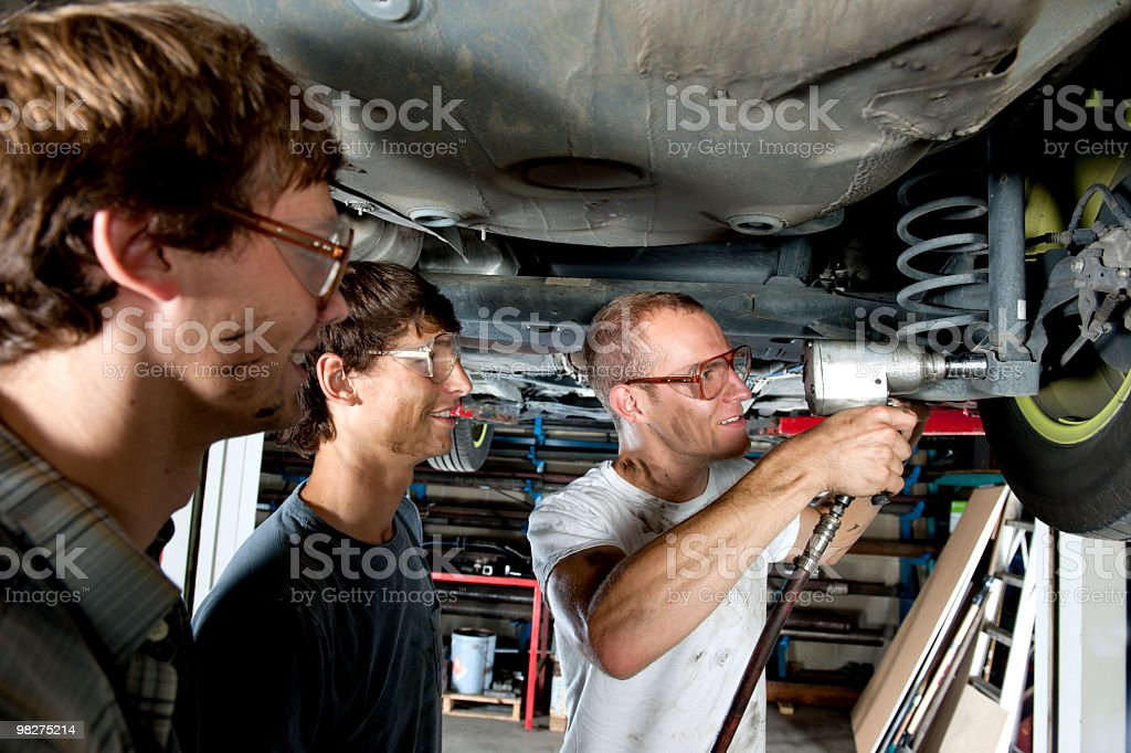 Auto Mechanics royalty-free stock photo