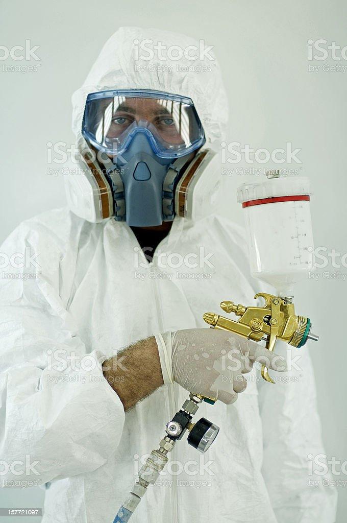 auto painter stock photo
