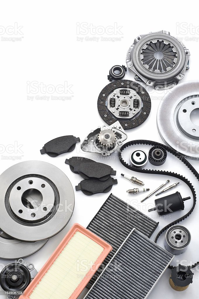 Auto Parts royalty-free stock photo