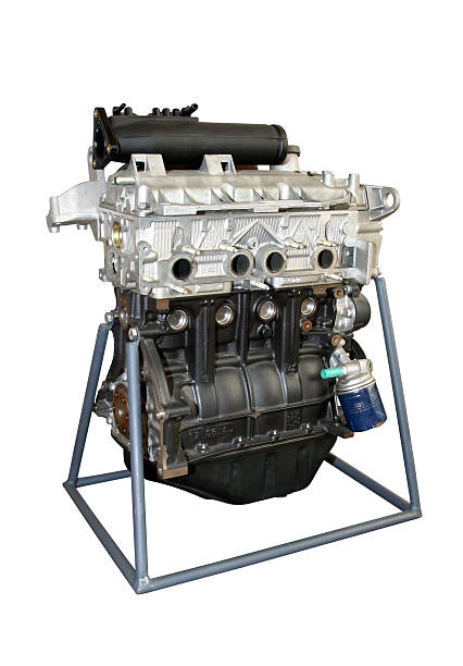 Auto motore benzina - foto stock