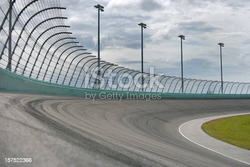173015172 istock photo Auto racing Racetrack turn 157522366