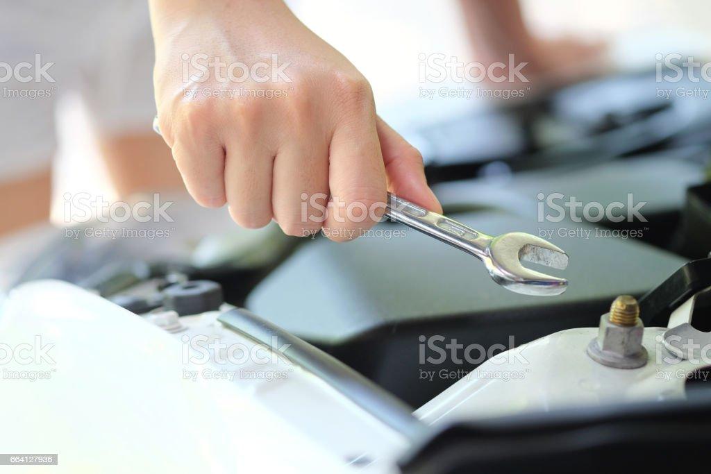 auto repair concept foto stock royalty-free