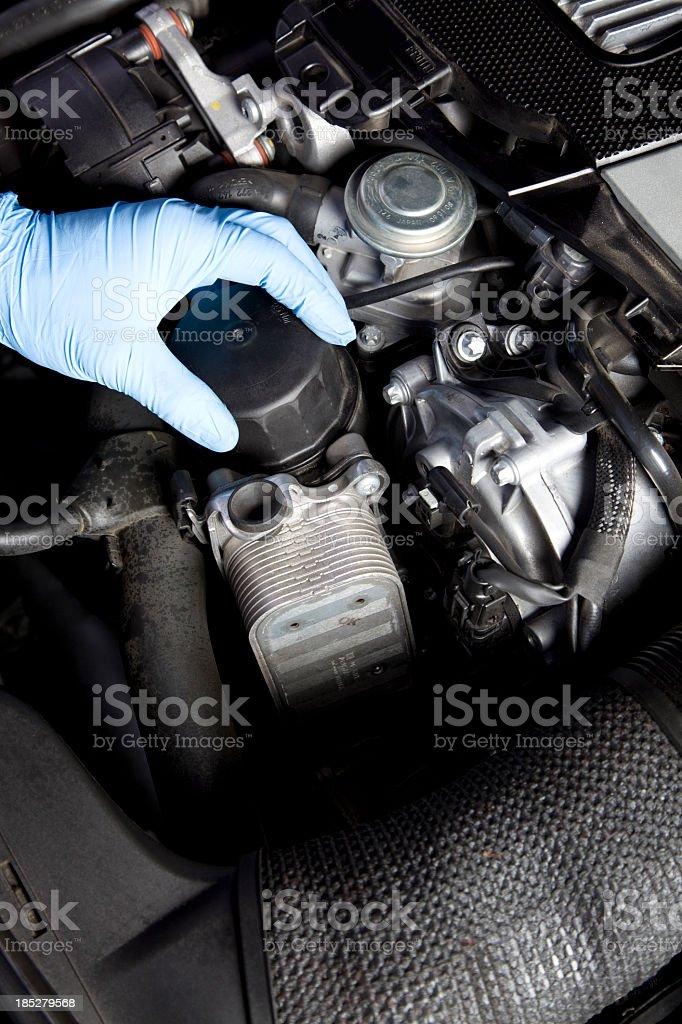 Auto Repair royalty-free stock photo