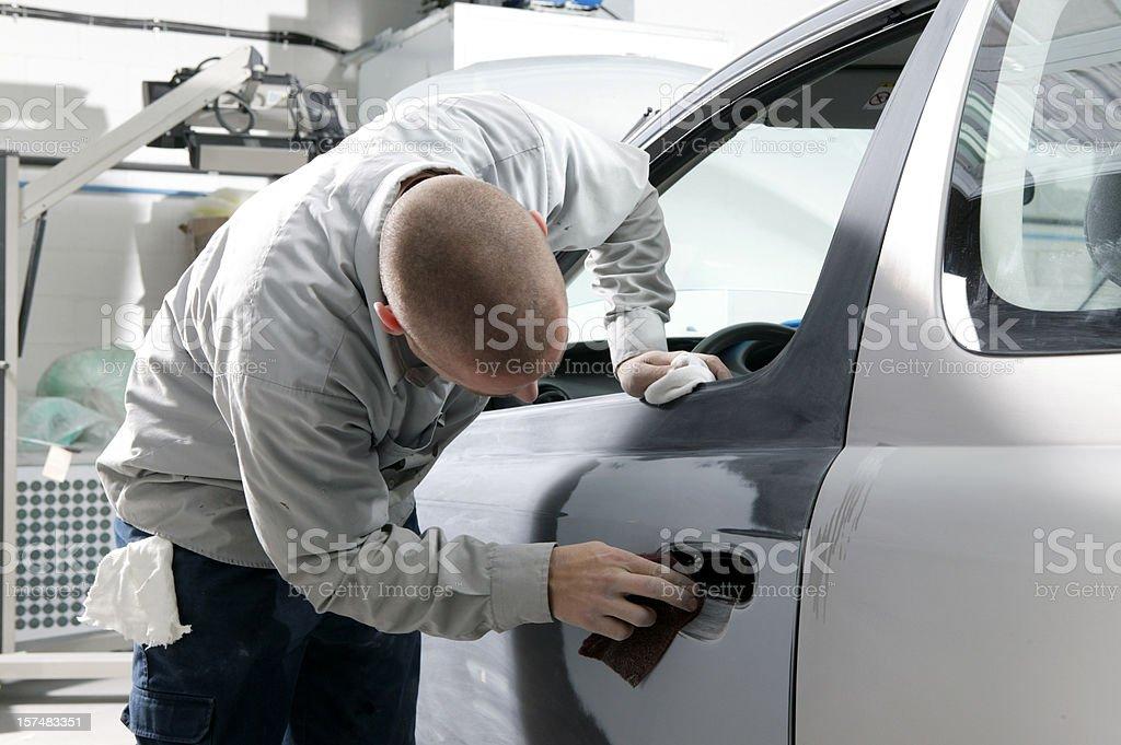 auto repair shop men working royalty-free stock photo