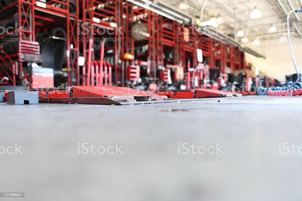 Auto Repair Shop royalty-free stock photo