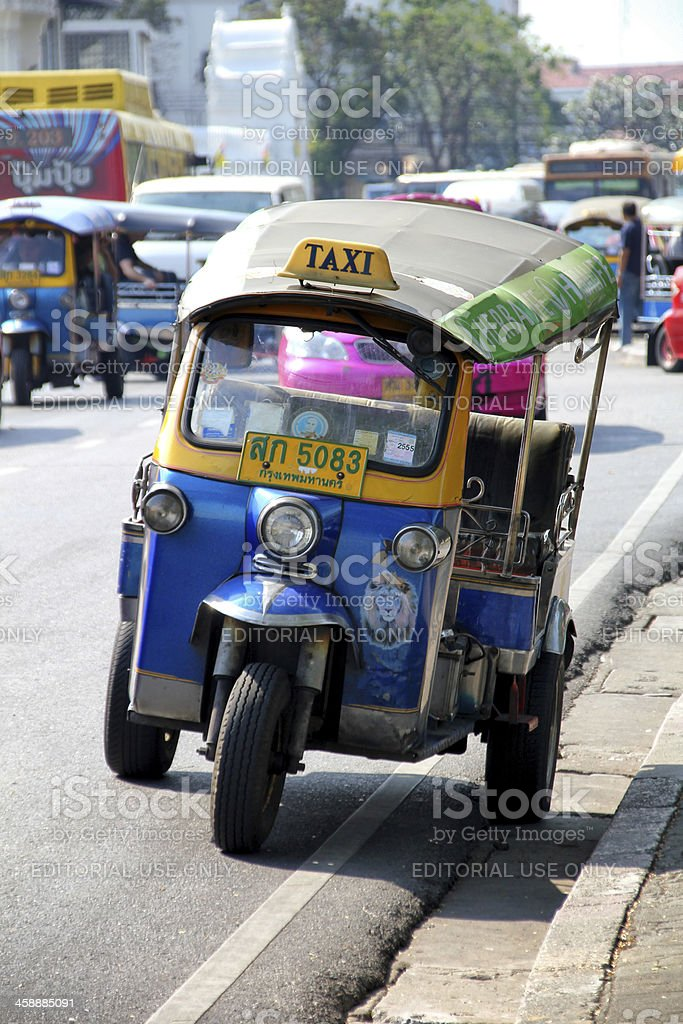 Auto rickshaw royalty-free stock photo