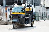 auto rickshaw on road